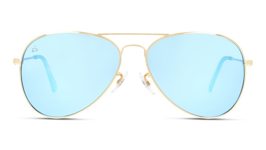 Prive Revaux Commando Unisex Sunglasses Brown/Gold