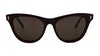 Mulberry SML035 Women's Sunglasses Brown/Red