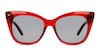 Prive Revaux Mister by Madelaine Petsch Women's Sunglasses Grey/Red