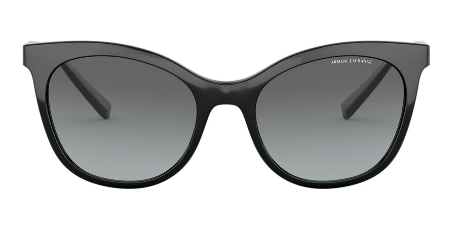 Armani Exchange AX 4094S Women's Sunglasses Grey/Black