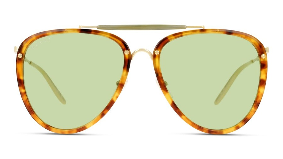 Gucci GG 0672S Men's Sunglasses Yellow/Havana