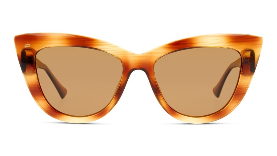 Prive Revaux Audrey by Olivia Culpo Unisex Sunglasses Brown/Tortoise Shell