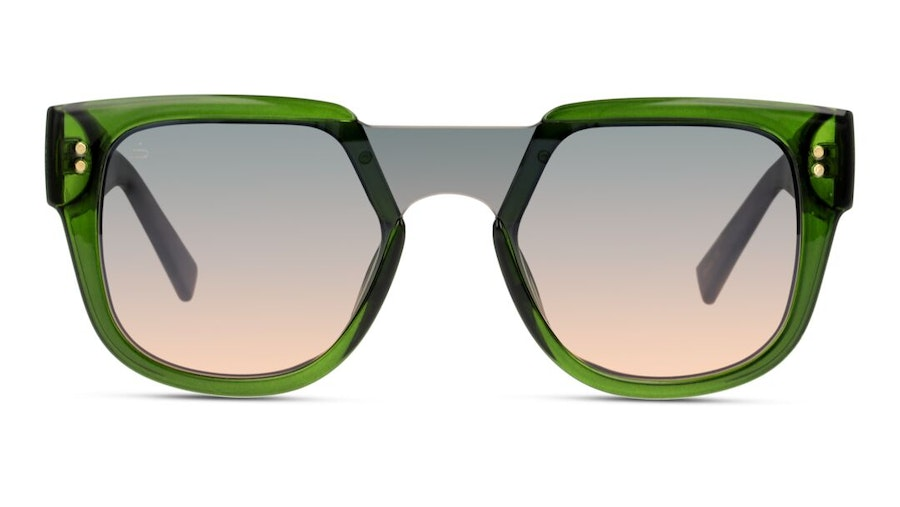 Prive Revaux Love Valentina by Adriana Lima Unisex Sunglasses Grey/Green