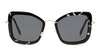 Miu Miu MU 55VS Women's Sunglasses Grey/Black