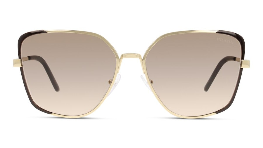 Prada PR6XS Women's Sunglasses Brown/Gold