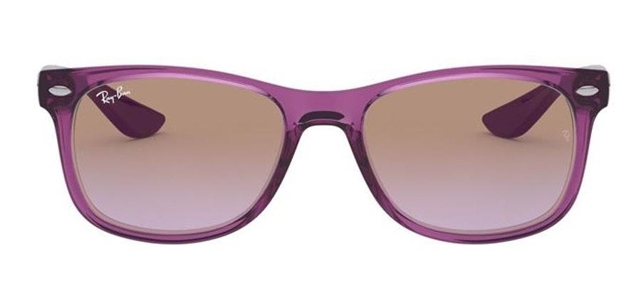 Ray-Ban Juniors RJ 9052S Children's Sunglasses Violet/Violet