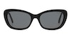 Ralph by Ralph Lauren RA5264 Women's Sunglasses Grey/Black