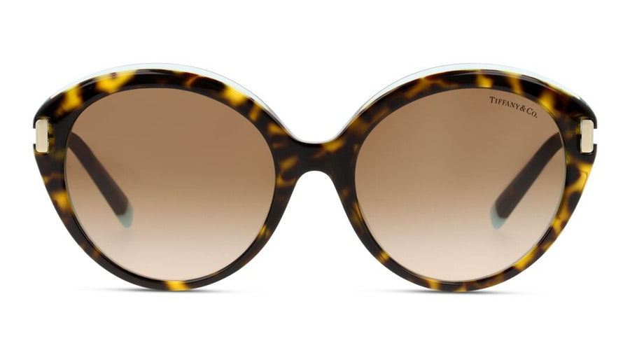 Tiffany & Co TF4167 Women's Sunglasses Brown/Havana