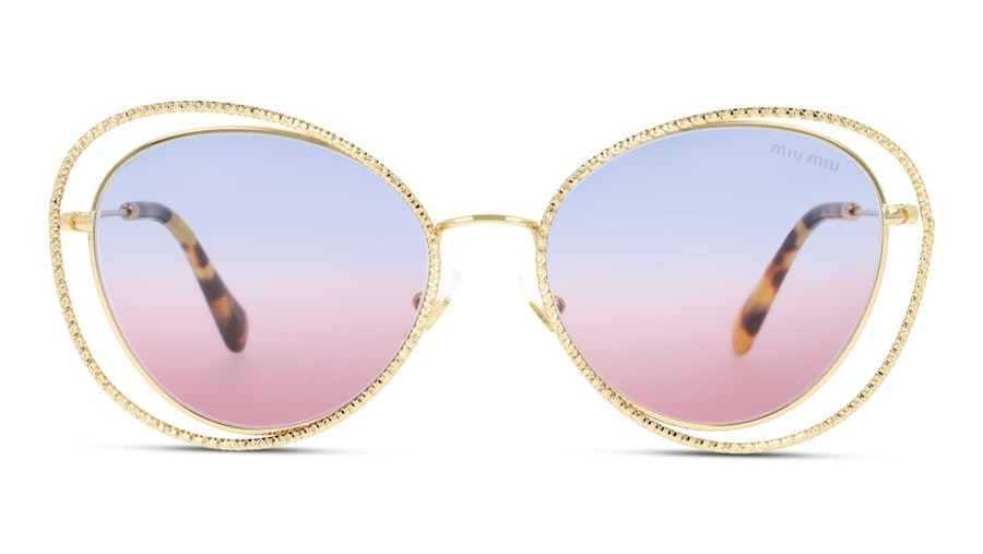 Miu Miu MU 59VS Women's Sunglasses Violet/Gold