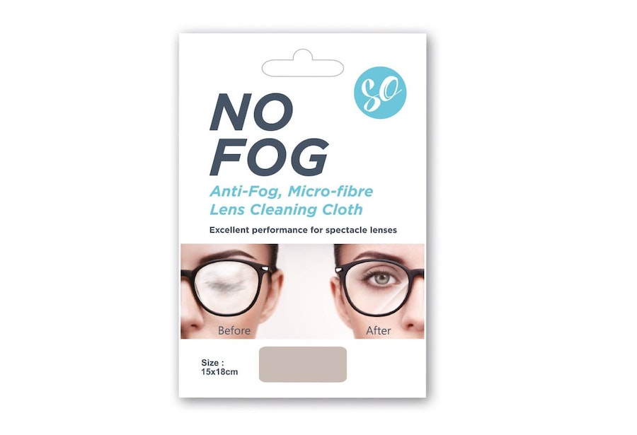 SO No Fog Microfibre Glasses Cleaning Cloth