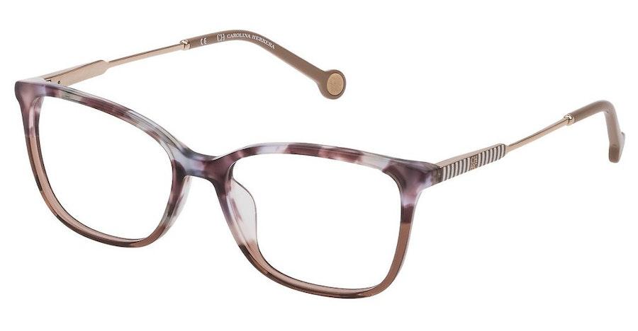 Carolina Herrera VH E816 (0AF5) Glasses Violet