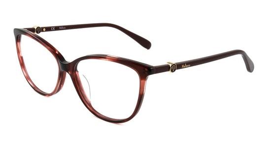 VML 019 Women's Glasses Transparent / Red