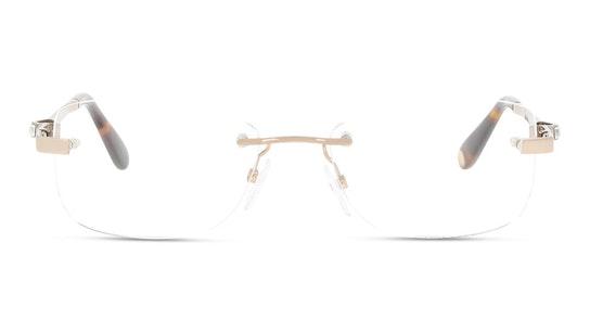 VML 031S Women's Glasses Transparent / Red