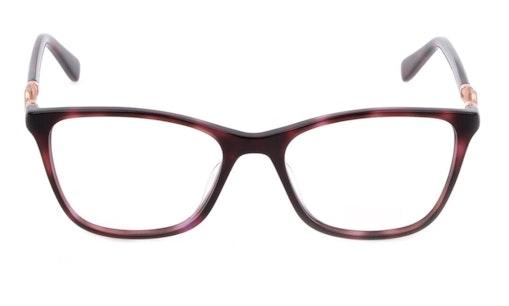 VML 049 Women's Glasses Transparent / Red