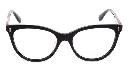 VML 051 Women's Glasses Transparent / Black