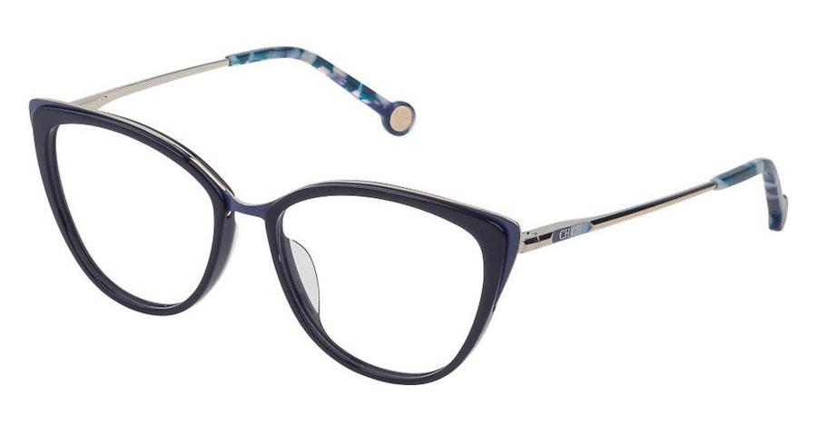 Carolina Herrera VH E853 (09AG) Glasses Blue