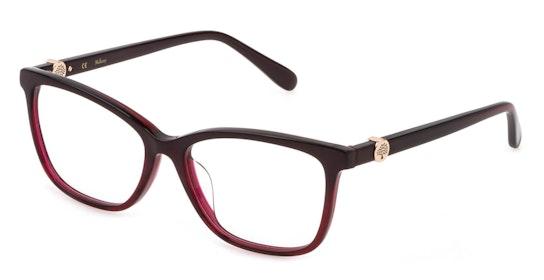 VML 101 Women's Glasses Transparent / Red
