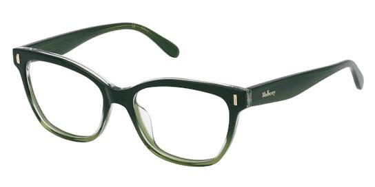 VML 123 Women's Glasses Transparent / Green