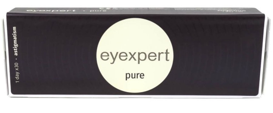 Eyexpert Pure (1 day toric for astigmatism)