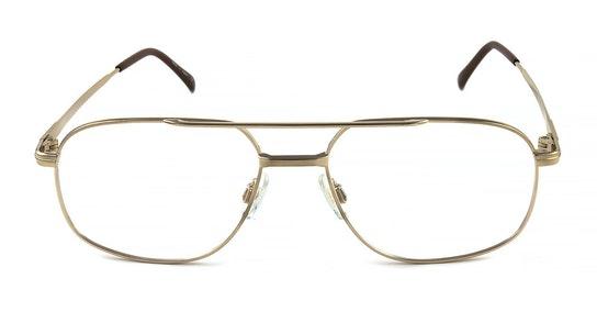 206 Men's Glasses Transparent / Gold