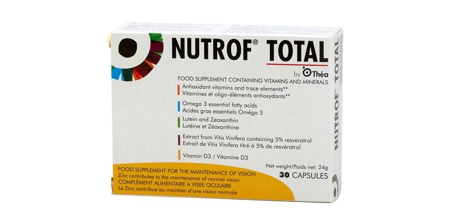 Nutrof Total Eye Health Supplement 30 Capsules