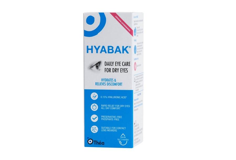 Hyabak Dry Eye Drops