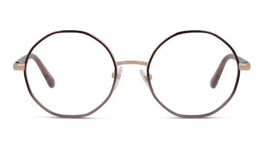 Daisy 031 Women's Glasses Transparent / Red