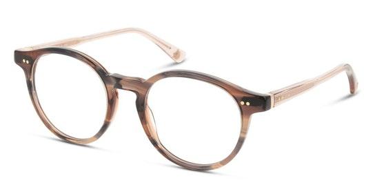 Louve 012 Women's Glasses Transparent / Brown