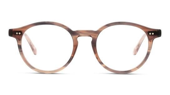 Louve 12 (E353) Glasses Transparent / Brown