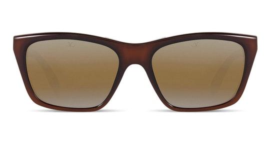 VL 0006 Men's Sunglasses Brown / Brown