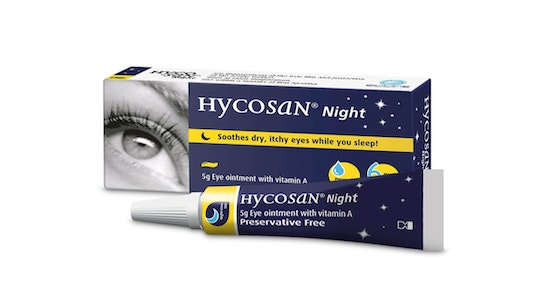 Night Preservative Free Eye Ointment Lotion