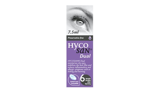 Dual Preservative Free Eye Drops