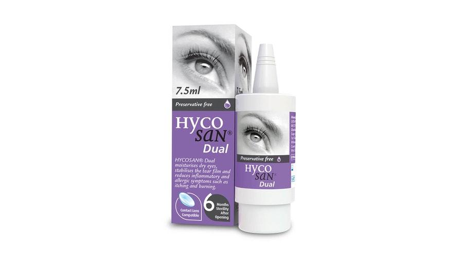 Hycosan Dual Preservative Free Eye Drops