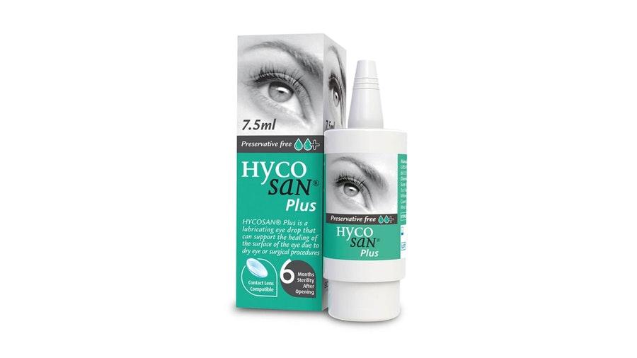 Hycosan Plus Preservative Free Eye Drops