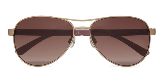 Cowes JS 5011 Women's Sunglasses Brown / Gold