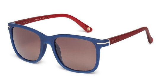 Lars TB 1572 Men's Sunglasses Brown / Navy