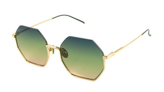 SS 5003 Women's Sunglasses Green / Gold