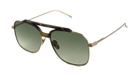SS 6003 Men's Sunglasses Green / Gold