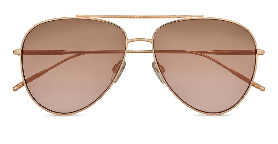 Ted Baker Sutton TB 1625 (401) Sunglasses Brown / Rose Gold