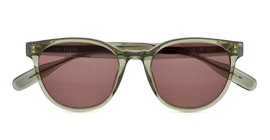 Ted Baker Hoyt TB 1544 (934) Sunglasses Green / Grey