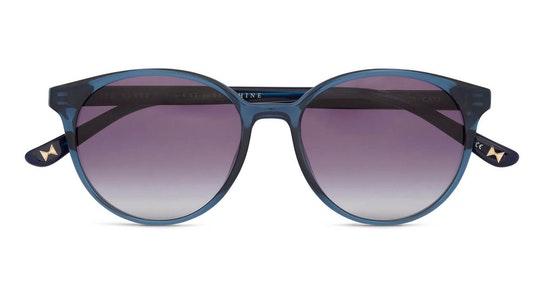 Flores TB 1604 Women's Sunglasses Grey / Blue
