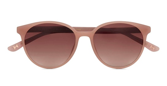 Flores TB 1604 Women's Sunglasses Brown / Pink