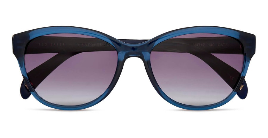 Ted Baker Amie TB 1605 Women's Sunglasses Grey / Blue