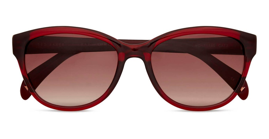 Ted Baker Amie TB 1605 (204) Sunglasses Brown / Burgundy