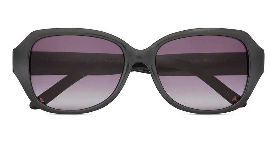 Ted Baker Mae TB 1606 Women's Sunglasses Grey / Black