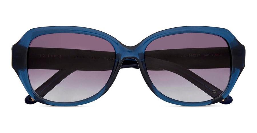 Ted Baker Mae TB 1606 Women's Sunglasses Grey / Blue