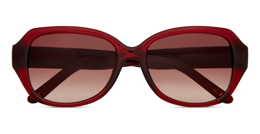 Ted Baker Mae TB 1606 Women's Sunglasses Brown / Burgundy