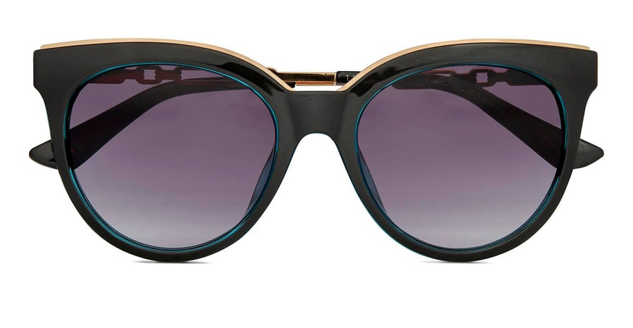 Ted Baker Fern TB 1609 (001) Sunglasses Grey / Black