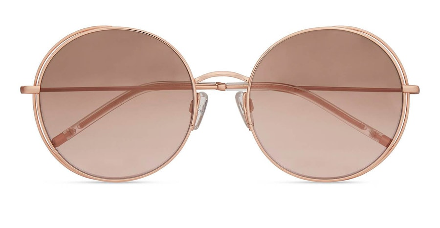 Ted Baker Mayra TB 1612 Women's Sunglasses Pink / Gold