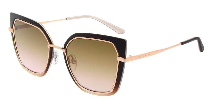 Ted Baker Hetty TB 1613 Women's Sunglasses Pink / Brown